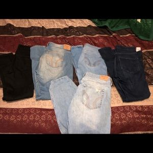 Hollister jeans *BUNDLE*
